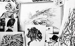 Taller Teoría y práctica del dibujo contemporáneo